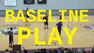 Win Games Using This Full-Court Out of Bounds Play! - Basketball 2016 #52