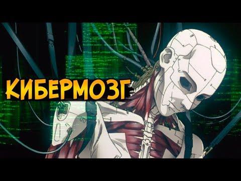 Кибермозг из аниме Призрак в Доспехах / Ghost in the Shell (виды киберизации, взлом, заболевания)