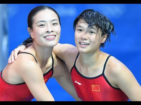MINXIA WU TINGMAO SHI WIN GOLD MEDAL WOMEN'S SYNCHRONIZED DIVING MY THOUGHTS REVIEW
