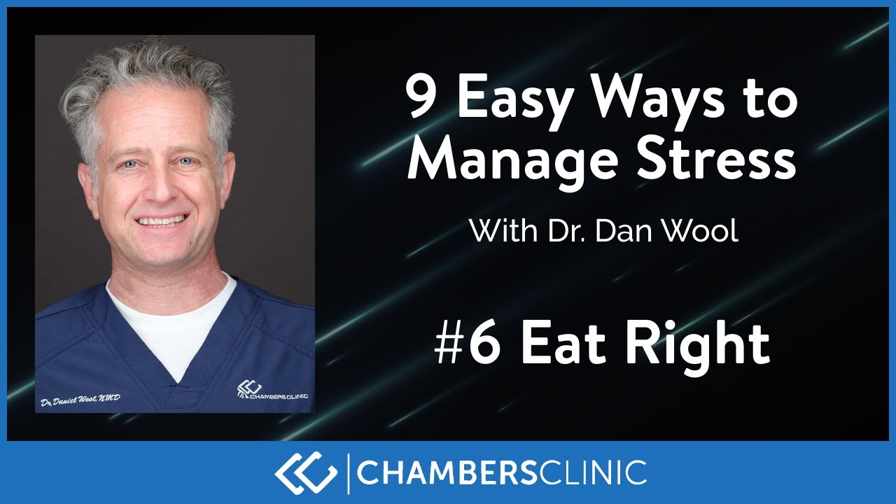 9 easy ways to reduce stress: #6 Eat right
