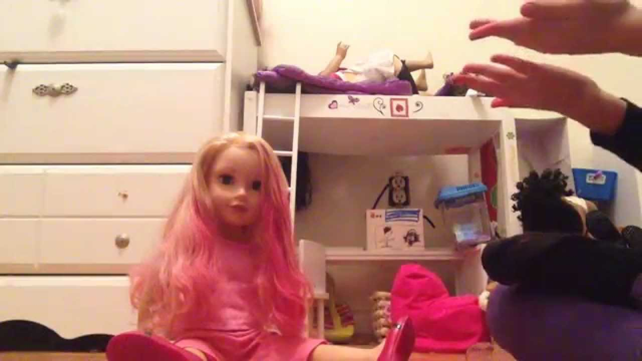how to dye your american girl dolls hair read description youtube. Black Bedroom Furniture Sets. Home Design Ideas