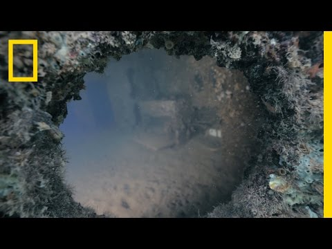 Deeper Look Inside Sunken Battleship Preserved Since Pearl Harbor Attack | National Geographic