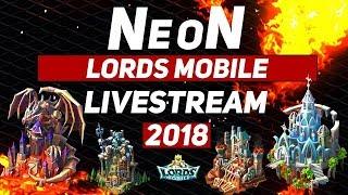 NeoN - 35 Million Might Winner - Lords Mobile Livestream