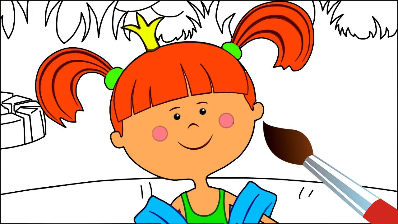 Хочу на море - Мультик Раскраска с Царевной - Учим цвета ...