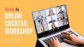 Online Şirket Etkinlikleri - Kurumsal Motivasyon - Online Cocktail Workshop - Jigger İstanbul