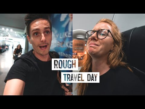 Travel Nightmare from Bali to Sri Lanka! - ALMOST Missed Our Flight 😳