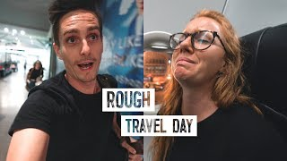 Travel Nightmare from Bali to Sri Lanka! - ALMOST Missed Our Flight ?