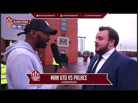 Manchester United  Sam Tarly from Game of Thrones Cam! Man Utd 40 Crystal Palace