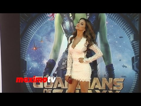 Mikaela Hoover  Guardians of the Galaxy  World Premiere  Red Carpet