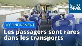 Trains et avions déserts : voyage France - Espagne au temps du Covid-19