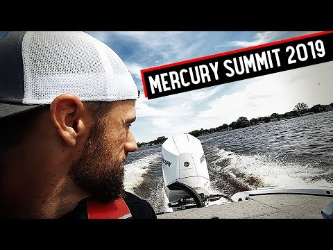 Mercury Summit 2019 - John Crews and BASS pros go to Wisconsin