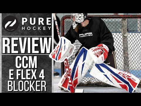 CCM Extreme Flex 4 Pro Goalie Blocker | Product Review