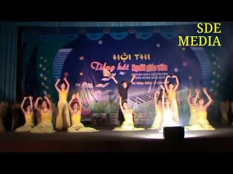 Hội thi Tiếng hát Người giáo viên huyện Sơn Động (1)