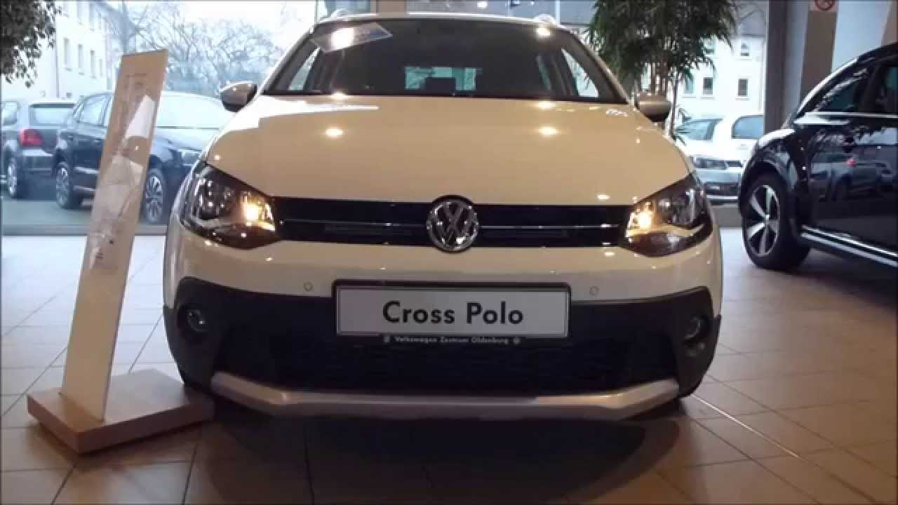 2015 vw cross polo 1 2 tsi 110 hp exterior interior see also playlist youtube. Black Bedroom Furniture Sets. Home Design Ideas