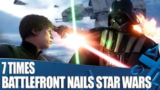 7 Times Star Wars: Battlefront Really Nails Star Wars