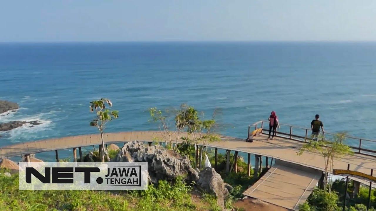 Kece, Dari Spot Foto Kece di Pantai Surumanis Kebumen - NET JATENG