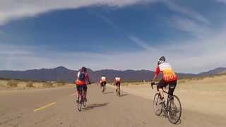 Sun City Palm Desert Cyclists at Borrego Springs California