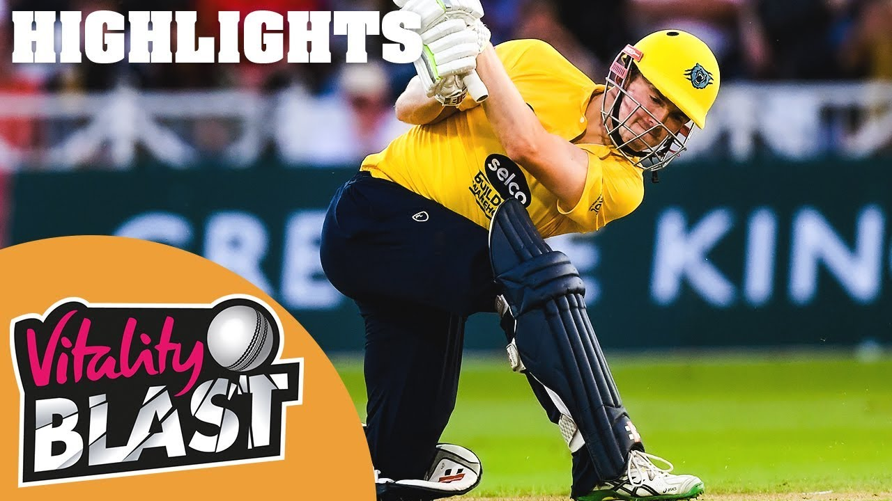 Durham Jets v Birmingham Bears | Pollock's 77 Gives Bears Win | Vitality Blast 2019 - Highlight