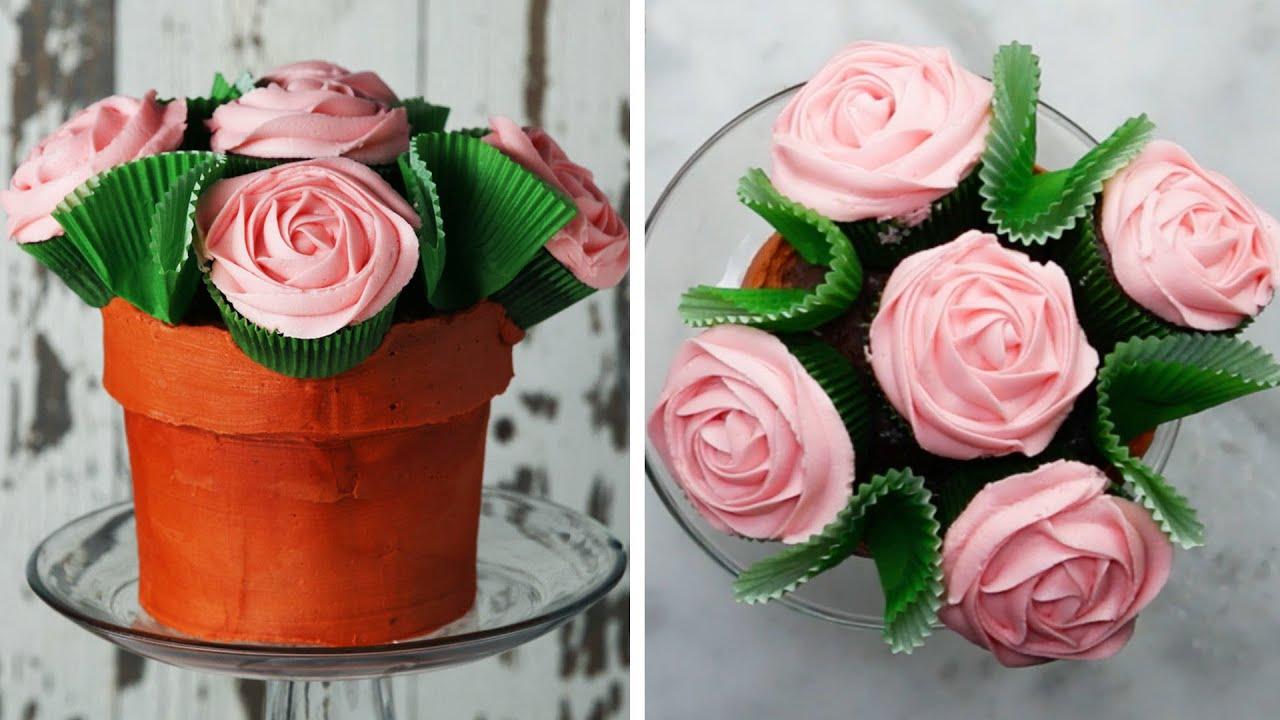 maxresdefault - Flower Pot Cake