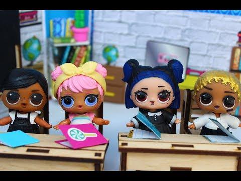 ЛОЛ школа НОВЫЕ МАЛЬЧИКИ часть 2 Мультик про куклы LOL SURPRISE. MC Family.