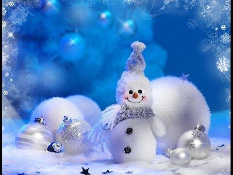 Зимняя поделка. Как сделать веселого Снеговика