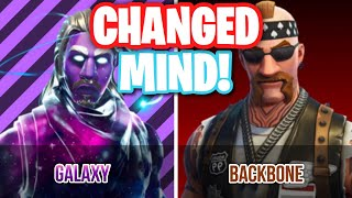 today we look at some Fortnite Skins I've changed my mind on... eit...
