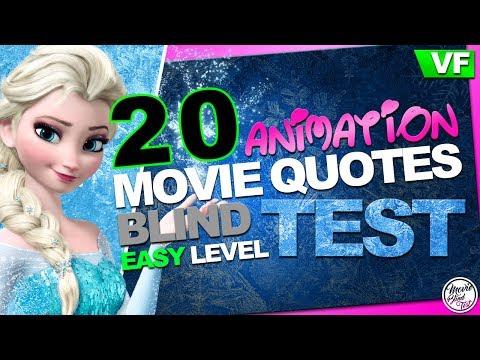 QUIZZ Disney Pixar Dreamworks | BLIND TEST dessins animés : 20 extraits faciles [VF]