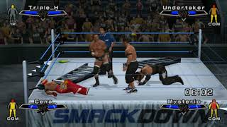 WWE SmackDown vs Raw 2007 PS2 Gameplay HD (PCSX2)