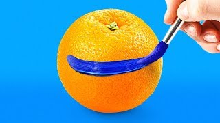 30 CRAZY LIFE HACKS WITH FRUITS AND VEGETABLES
