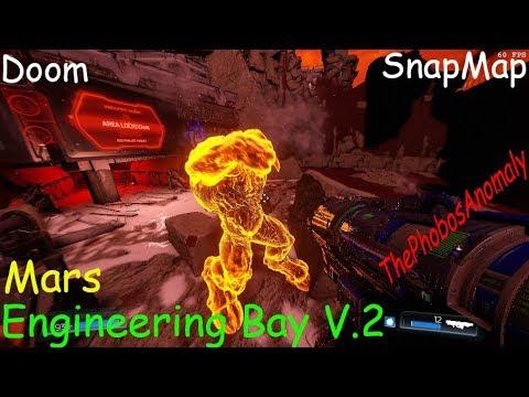Doom SnapMap - Mars Engineering Bay V.2