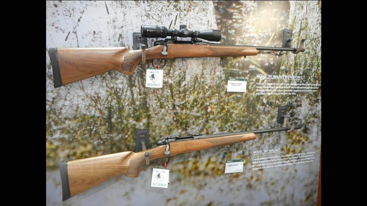First Look: Remington 783 Walnut Edition Rifle