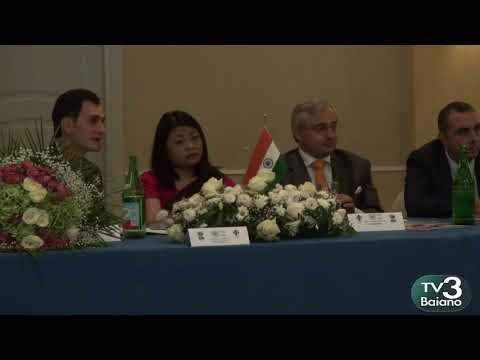 Incontro Pmi internazional con Mrs Gloria Gangte -embassy of India