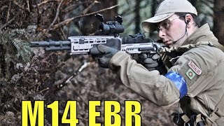 aIRSOFT SNIPERS M14 EBR