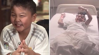 9-Year-Old Boy's Giggling Fits Turn Out To Be Benign Mass Which Caused Seizures thumbnail