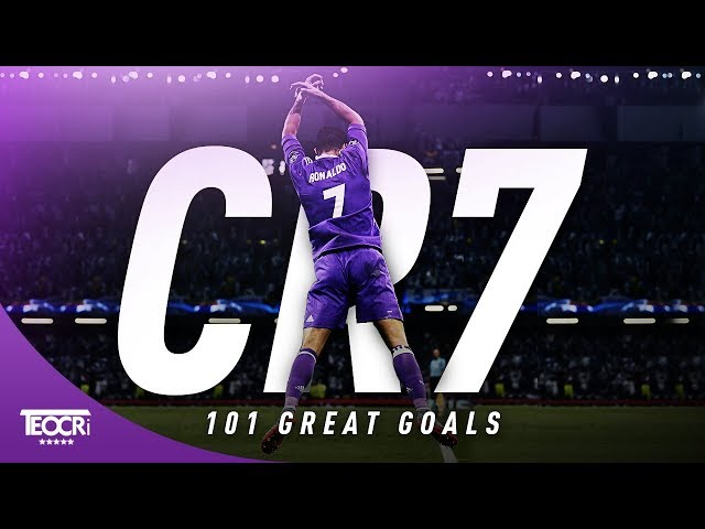101 Great Goals By Cristiano Ronaldo |HD