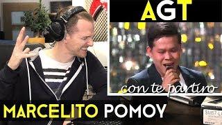VOCAL COACH REACTS Marcelito Pomoy  Con Te Partirò - America's Got Talent