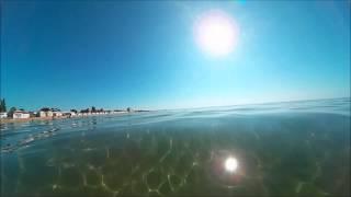 Золотой пляж Феодосии(Золотой пляж в Феодосии 20 июля 2015 г., 2015-07-21T23:14:27.000Z)