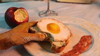 Van Gogh's Dinner / Stop Motion Cooking / ASMR