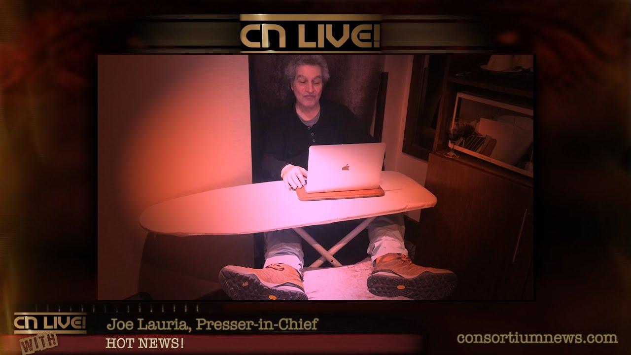 CN Live! Bloopers - Joe Lauria's Hot News!