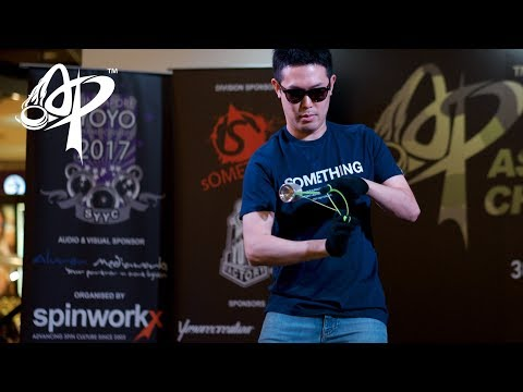 Hiroyuki Suzuki (JP): 1A Division Prelim  - Asia Pacific Yo-yo Championships 2017