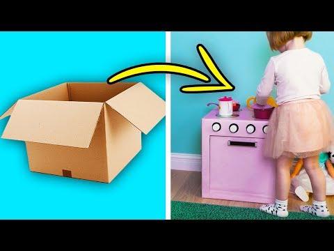 10 GREAT CARDBOARD DIYS FOR KIDS