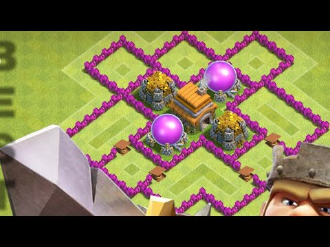 Townhall 6 Best Base 2017 Farming| Clash Of Clan