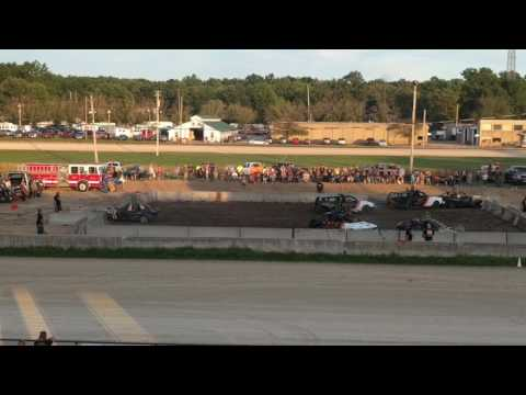 Lake County Fair Demolition Derby - Painesville Ohio - Mentor Ohio