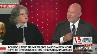 Steve Schmidt Spine-Tinglingly Calls On The American People To Rise Up Against Trump Steve Schmidt delivered a passionate message to America that the people must rise up against Trump and his Saudi murder cover-up., From YouTubeVideos