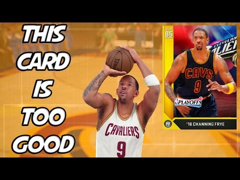 NBA 2K16 MyTeam - This Card is OP! - Channing Frye Doesn