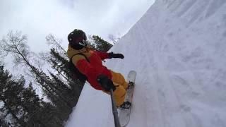 Сургут + Каменный мыс + Сноуборд = Отличные выходные(, 2014-03-17T06:10:06.000Z)