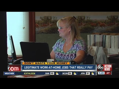Don't Waste Your Money: Legitimate work-at-home jobs that really pay