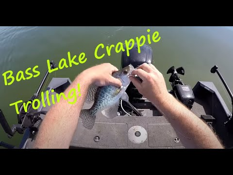Bass Lake Crappie Indiana