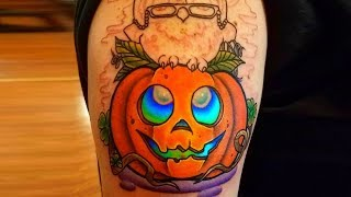 Best pumpkin tattoo ideas for those who loves halloween