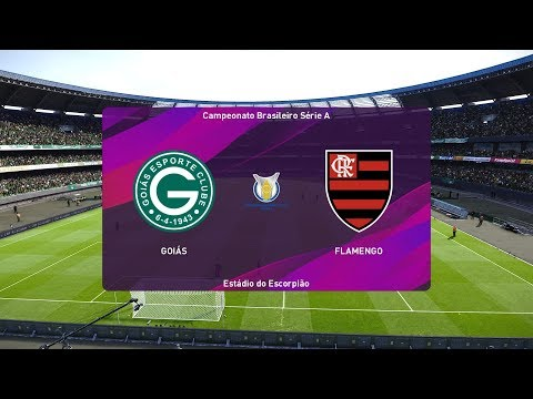 Pes 2020 Goias Vs Flamengo Brazil Serie A 01 November 2019